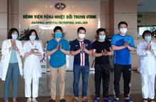 5 bệnh nhân nhiễm Covid-19 được công bố chữa khỏi