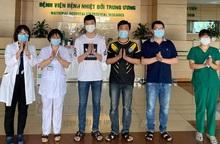 3 bệnh nhân Covid-19 từ Nga về được công bố khỏi bệnh