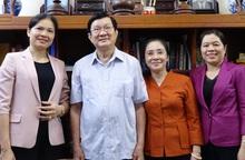 Lãnh đạo Hội LHPN Việt Nam thăm nguyên lãnh đạo Nhà nước, Chính phủ