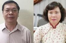 Bộ Công an đề nghị truy tố cựu Bộ trưởng Vũ Huy Hoàng, truy nã bị can Hồ Thị Kim Thoa