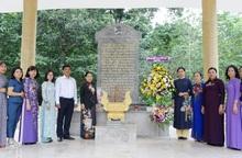 Tỉnh Tây Ninh sẽ cùng Hội LHPN Việt Nam tôn tạo Khu tưởng niệm Hội LHPN Giải phóng miền Nam