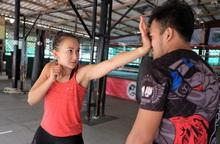 Phụ nữ Thái Lan học võ để chống nạn quấy rối tình dục