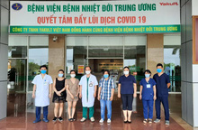 4 bệnh nhân nhiễm Covid-19 được công bố khỏi bệnh