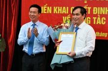 Ban Bí thư bổ nhiệm ông Phan Xuân Thủy giữ chức Phó trưởng Ban Tuyên giáo Trung ương