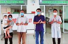 Bệnh nhân nhiễm Covid-19 nặng nhất phía Bắc được chữa khỏi