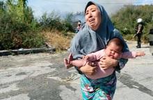 Cuộc sống bi thảm của phụ nữ, trẻ em sau vụ cháy trại tị nạn lớn nhất châu Âu