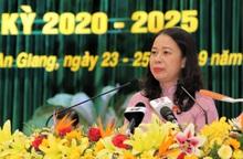 Đồng chí Võ Thị Ánh Xuân tái đắc cử chức Bí thư Tỉnh ủy An Giang