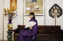 Chiêm ngưỡng những bộ áo dài cổ của phụ nữ tại Ngày hội Việt phục