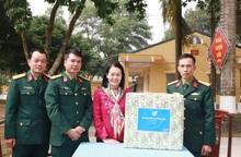 TƯ Hội LHPN Việt Nam chúc Tết cán bộ, chiến sĩ Tiểu đoàn Phủ Thông và Bình Ca