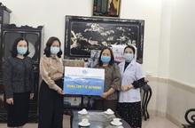 Hội LHPN Hải Phòng thăm và tặng quà nơi tuyến đầu chống dịch