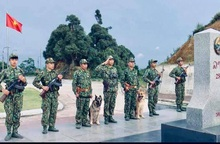 Niềm vui lớn nhất của người lính biên phòng là biên giới được bình yên