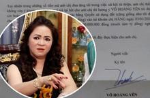 Ông Võ Hoàng Yên đề nghị trả lại tiền, bà Nguyễn Phương Hằng nói gì?