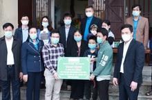 Quỹ Mottainai hỗ trợ gia đình nữ cán bộ y tế trực chốt Covid-19 tử vong do tai nạn giao thông