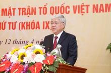 Tân Chủ tịch UBTƯ MTTQ Việt Nam Đỗ Văn Chiến: Đồng tâm hiệp lực xây dựng MTTQ Việt Nam vững mạnh
