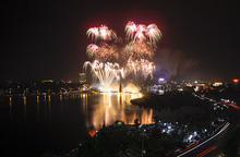 Tổ chức bắn pháo hoa dịp Giỗ Tổ Hùng Vương – Lễ hội Đền Hùng 2021