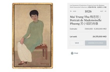 """""""Giải mã"""" nguyên nhân khiến bức tranh Việt đạt giá kỷ lục 3,1 triệu USD"""