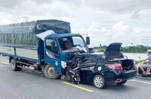 Hưng Yên: 3 người tử vong sau cú va chạm với xe tải