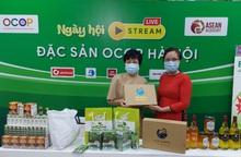 OCOP Hà Nội livestream đặc sản ủng hộ Quỹ Vaccine phòng Covid-19