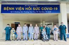 10 bệnh nhân Covid-19 nặng ở TPHCM được xuất viện