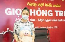 Cô gái 9x vượt gần 50 cây số đi hiến máu cứu người