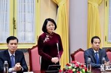 Phó Chủ tịch nước: Các tân Đại sứ bám sát 3 nhiệm vụ đối ngoại then chốt