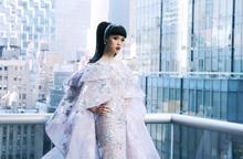 Jessica Minh Anh làm show thời trang thân thiện môi trường tại Mỹ
