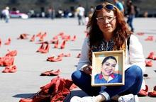 200 đôi giày đỏ để phản đối bạo lực với phụ nữ tại Mexico