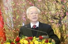 Tổng Bí thư, Chủ tịch nước Nguyễn Phú Trọng chúc Tết Canh Tý 2020