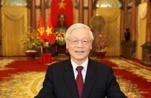 Hoà bình, hạnh phúc, ấm no - Rạng danh Tổ quốc, cơ đồ Việt Nam!