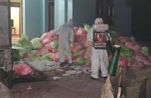 Phát hiện đối tượng thu gom hơn 620kg khẩu trang y tế đã qua sử dụng