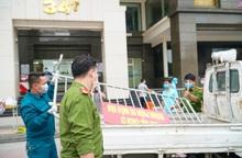 Hà Nội: Dỡ phong tỏa tòa nhà 34T Hoàng Đạo Thúy sau khi tiến hành phun khử khuẩn
