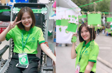 Nữ sinh Học viện Phụ nữ Việt Nam hạnh phúc với 5 lần được hiến máu