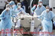 Các nữ y, bác sĩ quên mình nơi tuyến đầu chống dịch Covid-19