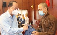 50 tình nguyện viên Phật giáo xung phong vào tuyến đầu chống dịch
