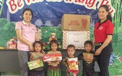 Trẻ em nghèo vùng cao Yên Bái vui đón Tết Trung thu