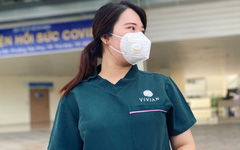 Thương bệnh nhân, nữ tình nguyện viên quay lại tuyến đầu tiếp tục chống dịch