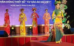 Di sản Hà Nam hiện diện trên áo dài của NTK Trần Hiền
