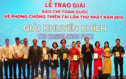 Báo Phụ nữ Việt Nam đạt giải báo chí toàn quốc về phòng, chống thiên tai lần thứ nhất
