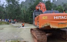 Lập Sở Chỉ huy tiền phương triển khai cứu hộ tại khu vực thủy điện Rào Trăng 3