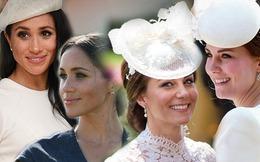 Mặc thiên hạ makeup lộng lẫy, chị em dâu Hoàng gia Anh vẫn trung thành lối trang điểm tông nude