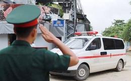 Tổ chức tang lễ 13 đồng chí hy sinh tại Rào Trăng 3 vào ngày 18/10