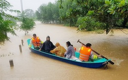 Các tỉnh, thành phố khu vực miền Trung tập trung ứng phó mưa lũ
