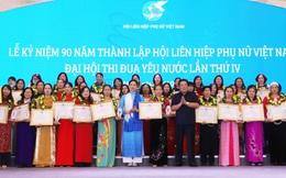 Đại hội Thi đua yêu nước Hội LHPNVN lần thứ IV: Tuyên dương 71 tập thể và 264 cá nhân tiêu biểu