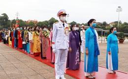 TƯ Hội LHPN Việt Nam làm lễ báo công dâng Bác