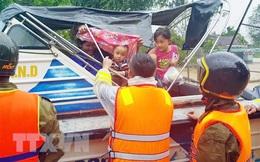 Hà Tĩnh: Huyện Hương Khê khẩn trương sơ tán dân ra khỏi vùng nguy hiểm
