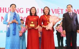 Tập thể Hội LHPN tỉnh Bắc Ninh nhận Giải thưởng Phụ nữ Việt Nam 2020