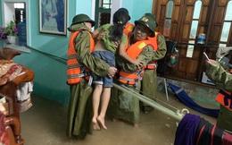 Mưa lớn vẫn tiếp tục trút xuống Quảng Bình, cảnh báo lũ quét, sạt lở đất