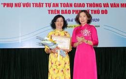 """""""Nữ cán bộ giỏi việc nước, đảm việc nhà"""" đoạt giải Nhất cuộc thi viết Phụ nữ với An toàn giao thông"""