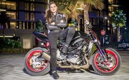 Nữ diễn viên 9x đóng thế nổi tiếng Hollywood với những màn biểu diễn đỉnh cao trên xe mô tô