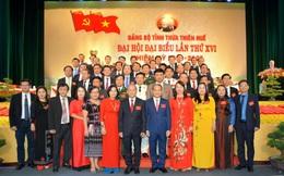Tỉ lệ nữ trong Ban chấp hành Đảng bộ tỉnh Thừa Thiên-Huế là 14%